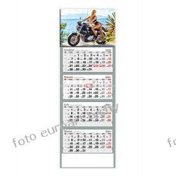 2021 kalendarz czterodzielny Dziewczyna na Harleyu Kalendarze książkowe