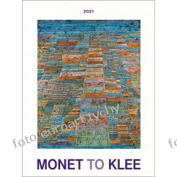 2021 Monet to Klee kalendarz ścienny 13 plansz