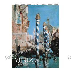2021 Venezia kalendarz ścienny 13 plansz