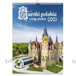 2021 kalendarz Polskie Zamki 13-planszowy spiralowany Gadżety i akcesoria