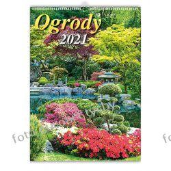 2021 kalendarz Ogrody 13-planszowy spiralowany