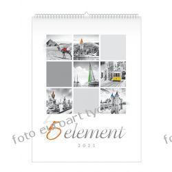 2021 kalendarz 5 Element 13-planszowy spiralowany Gadżety i akcesoria