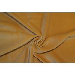 Aksamit 100% bawełna żółty zasłony kotary A588