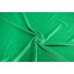 Aksamit 100% bawełna zielony zasłony kotary A2507