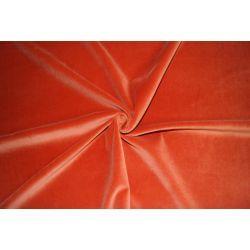 Aksamit 100% bawełna rudy zasłony kotary A556