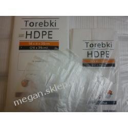 Worki foliowe HDPE 18/35 1000szt. Sarantis