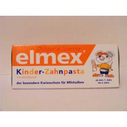 Elmex  pasta do zębów mlecznych od 1 ząbka do 6 lat Pielęgnacja zębów