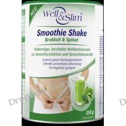 Well&Slim dietetyczny SmoothieShake brokułowy Kontrola wagi