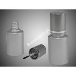 Szklana buteleczka 14 ml SREBRNA butelka