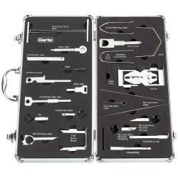 CHT595 – Zestaw kluczy do demontażu radia samochodowego – 46 części