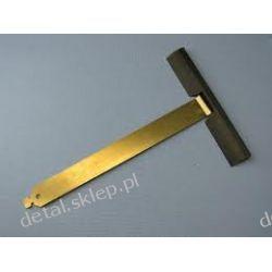 Wieszak nielakierowany aluminiowy wpust 100 mm wielkość 170 mm  /PROFILE PA 45,52