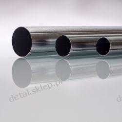 RURA 25mm STALOWA KARBOWANA do rolet elegant