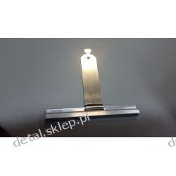 Wieszak nielakierowany aluminiowy wpust 100 mm wielkość 70mm  /PROFILE PA 39