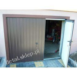 Brama garażowa dwuskrzydłowa na wymiar z montażem 430 zł/m2 Budownictwo i Akcesoria