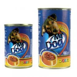 Karma pełnoporcjowa dla psów z wołowiną, Mr Dog, 415 g, Basic