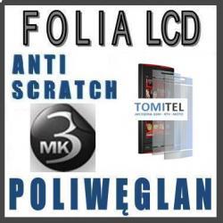 Folia na wyświetlacz LCD 3MK Poliwęglan Nokia X6