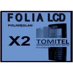 Folia na wyświetlacz LCD 3MK poliwęglan NOKIA X2