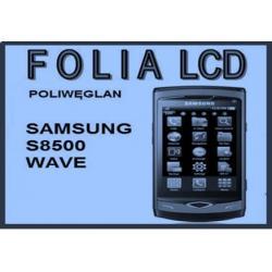 Folia na wyświetlacz LCD 2 szt. SAMSUNG S8500 WAVE