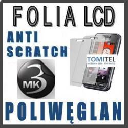 Folia na  LCD 3MK poliwęglan  Samsung  s5230 Avila