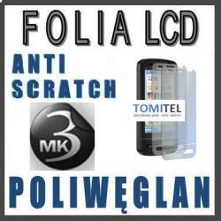 Folia na wyświetlacz LCD 3MK Poliwęglan Nokia C6