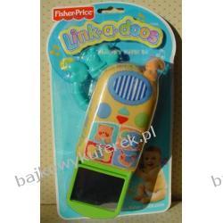 MIĘKKI TELEFON firmy FISHER PRICE.
