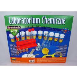 ZESTAW MAŁY CHEMIK - LABORATORIUM CHEMICZNE 100 doświadczeń DROMADER