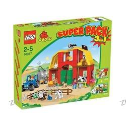 LEGO DUPLO VILLE 66367 - SUPER PACK 3in1