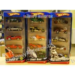 5 PACK HOT WHEELS 1:64