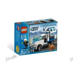 LEGO CITY 7285 - JEDNOSTKA POLICJI Z PSEM