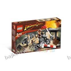 LEGO INDIANA JONES 7620 - UCIECZKA MOTOCYKLEM