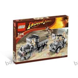 LEGO INDIANA JONES 7622 - WYŚCIG PO SKARB