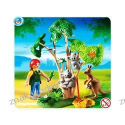 PLAYMOBIL 4854 Zoo - DRZEWKO Z MISIAMI KOALA I KANGUR