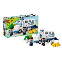 LEGO DUPLO 5680 - CIĘŻARÓWKA POLICYJNA