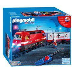 PLAYMOBIL 4010 Transport - POCIĄG TOWAROWY