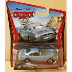 FINN McMISSILE DISNEY PIXAR CARS 2 firmy MATTEL W1940