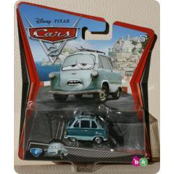 PROFESSOR DISNEY PIXAR CARS 2 firmy MATTEL W1944