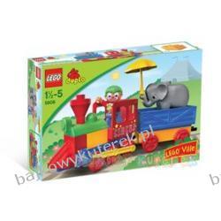 LEGO DUPLO VILLE 5606 - MÓJ PIERWSZY POCIĄG