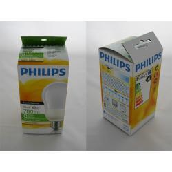 Philips Świetlówki EcoAmbiance 14 W (62 W) E27 ciepłe, białe światło