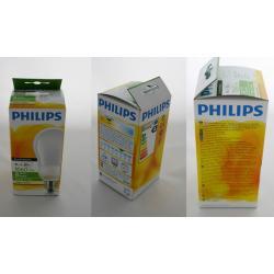 Philips Świetlówki EcoAmbiance 18 W (80 W) E27 ciepłe, białe światło