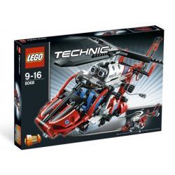 LEGO TECHNIC 8068 - HELIKOPTER RATUNKOWY