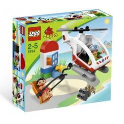 LEGO DUPLO 5794 - HELIKOPTER RATUNKOWY