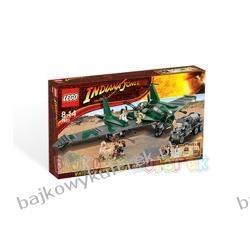 LEGO INDIANA JONES 7683 LOT SAMOLOTEM /NOWOŚĆ