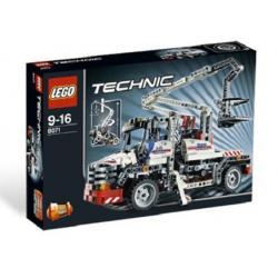 LEGO TECHNIC 8071 CIĘŻARÓWKA Z PRZENOŚNĄ SKRZYNIĄ