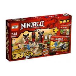 LEGO NINJAGO 66383 - SUPER PACK 2259 2258 2519