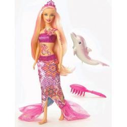 Barbie Syrenka Merliah firmy Mattel V8661