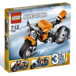 LEGO CREATOR 7291 - MOTOCYKL