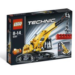 LEGO TECHNIC 9391 - DŹWIG GĄSIENICOWY