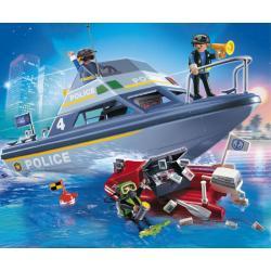 PLAYMOBIL 4429 Policja - MOTORÓWKA POLICYJNA