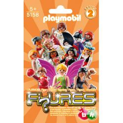PLAYMOBIL 5158 FI?URES GIRLS (2 SERIA)