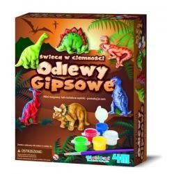 ODLEWY GIPSOWE - DINOZAURY firmy 4M